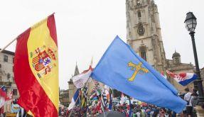 Papstgegner in Madrid (Foto)