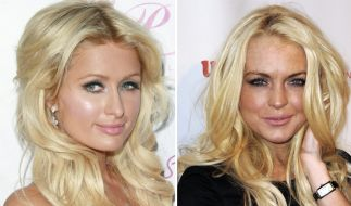Paris Hilton und Lindsay Lohan (Foto)