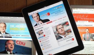 Parteien im Internet (Foto)