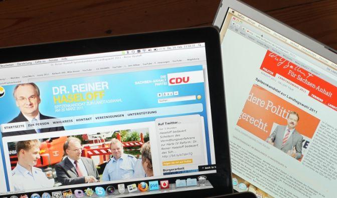 Parteien im Netz (Foto)