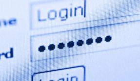 Passwortzugang online (Foto)