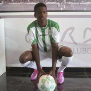 Patrick Ekong im Trikot des FC Cordoba.
