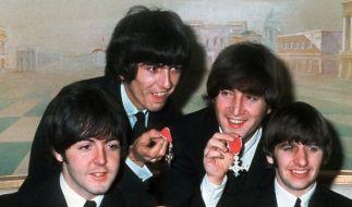 Paul McCartney (links), George Harrison, John Lennon und Ringo Starr (rechts): Ihre Welthits entstanden nicht nur im Studio - sondern auch auf dem Klo. (Foto)
