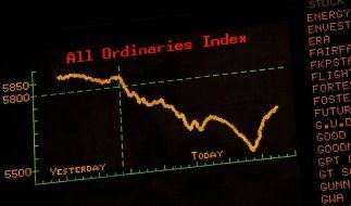 Pazifik-Börsen rutschen ab (Foto)