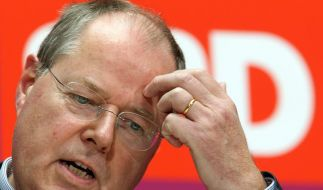 Peer Steinbrück muss sich Fragen nach seinen Nebeneinkünften gefallen lassen. (Foto)