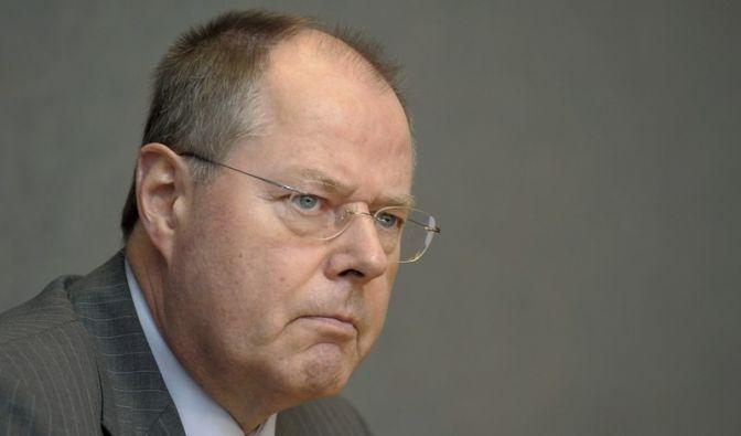 Peer Steinbrück wurde in seinem Tatendrang gebremst. (Foto)