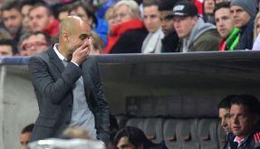 Pep Guardiola soll in der Bayern-Kabine ausgerastet sein. (Foto)