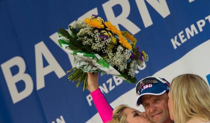 Petacchi siegt erneut in Bayern - Rogers in Gelb (Foto)