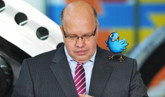 Peter Altmaier twittert (Foto)