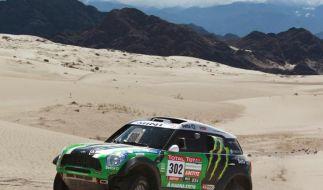 Peterhansel bei Dakar weiter in Führung (Foto)