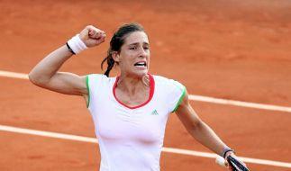 Petkovic erstmals im Viertelfinale der French Open (Foto)