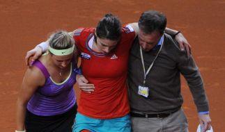Petkovic knickt um - Barthel und Kerber furios (Foto)