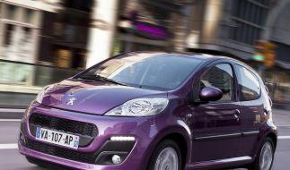 Peugeot 107: Feinschliff für den kleinen Franzosen (Foto)