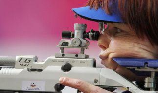 Pfeilschifter Weltcupsiegerin mit dem Luftgewehr (Foto)