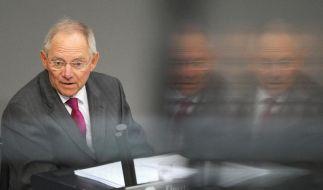Pflichtmensch mit scharfem Verstand: Wolfgang Schäuble. (Foto)