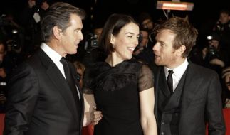 Pierce Brosnan, Olivia Williams und Ewan McGregor (Foto)