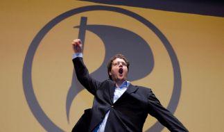 Piraten-Bundesvorsitzender Nerz glaubt an weitere Wahlerfolge (Foto)