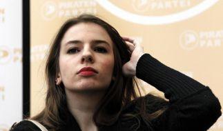 Piratin Marina Weisband tritt nicht mehr an (Foto)