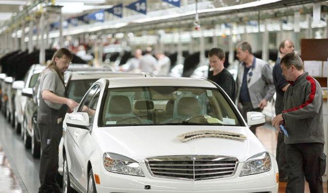 Pkw-Absatz bei Daimler weiter auf Talfahrt (Foto)