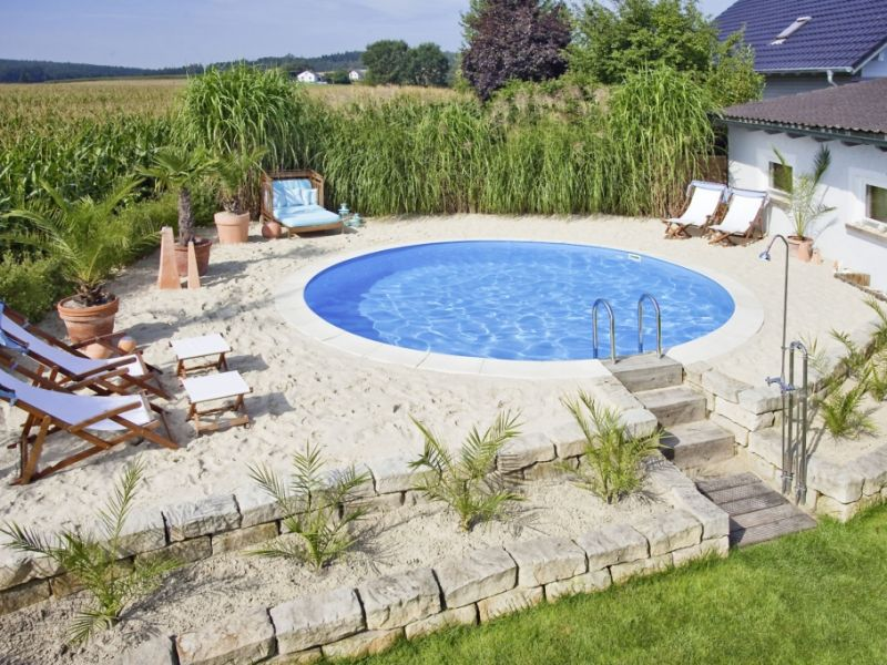 der traum vom eigenen swimmingpool das sollten sie bei der pool planung beachten. Black Bedroom Furniture Sets. Home Design Ideas