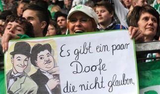 Plakat VfL Wolfsburg (Foto)
