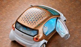 Plastikräder und mehr: Konzeptauto Smart Forvision (Foto)