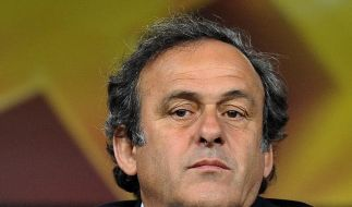 Platini: Bleibe bis 2015 UEFA-Präsident (Foto)
