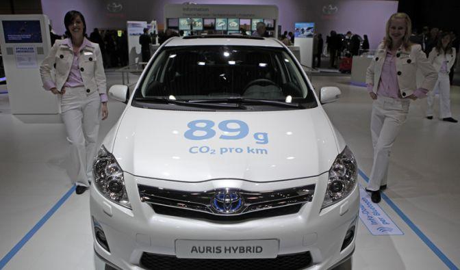 Platz 1: Toyota Auris Hybrid (Foto)