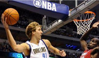Pleite für NBA-Meister Dallas zum Saisonauftakt (Foto)