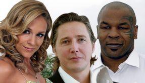 Pleite Promis: Michelle, Franjo Pooth und Mike Tyson. (Foto)