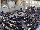Plenarsaal im Bundestag (Foto)