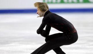Pluschenko bei Comeback wieder russischer Meister (Foto)