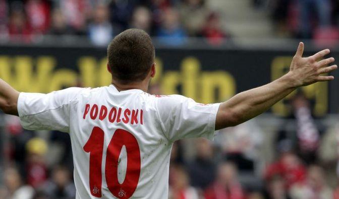 Podolski - als Absteiger reif für die Insel (Foto)