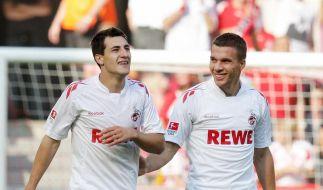 Podolski treibt FC nach vorn: «Fühlt sich gut an» (Foto)