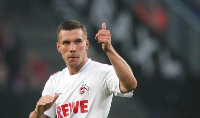 Podolski wechselt vom 1. FC Köln zum FC Arsenal (Foto)