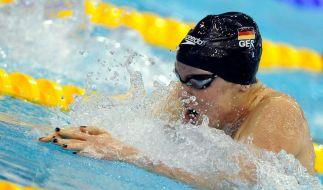 Poewe Europameisterin über 100 Meter Brust (Foto)