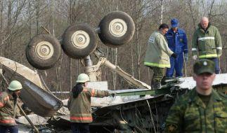 Polen gibt eigene Fehler bei Flugzeugabsturz zu (Foto)
