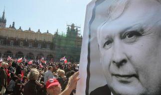 Polen nimmt Abschied von Präsident Kaczynski (Foto)