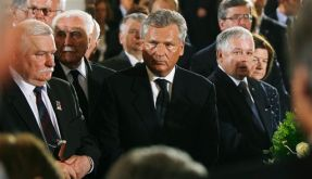 Polen Unabhaengigkeit Kaczynski Walesa (Foto)