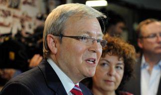 Polit-Machtkampf in Australien (Foto)