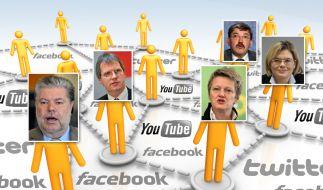 Politiker in sozialen Netzwerken (Foto)