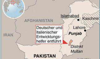 Polizei: Deutscher und Italiener in Pakistan entführt (Foto)