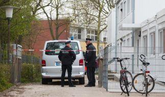 Polizei nimmt mutmaßlichen Messerstecher aus Hamburger Schule fest. (Foto)