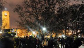 Polizei räumt Schlossgarten für S21-Baustelle (Foto)