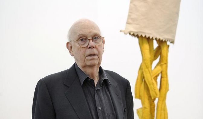 Pop-Art-Künstler Claes Oldenburg mag kein Fast Food (Foto)