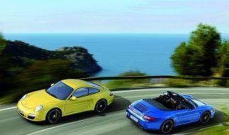 Porsche 911 GTS ab Juli auch mit Allradantrieb (Foto)
