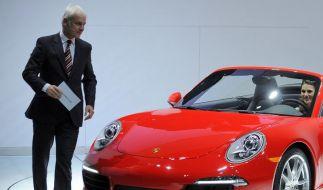Porsche denkt über Luxussportler nach (Foto)
