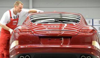 Porsche-Holding macht Gewinn und baut Schulden ab (Foto)