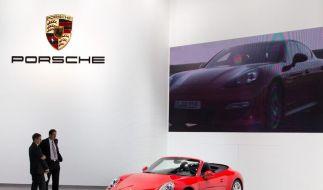 Porsche steigert Absatz (Foto)