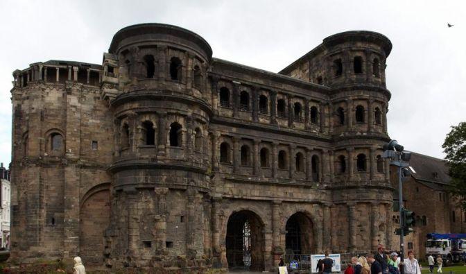 Porta Nigra - Triers Wahrzeichen wird saniert (Foto)